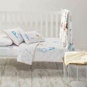 Pooh Bear Comforter Set from the Moran Home Kids Nursery Collection