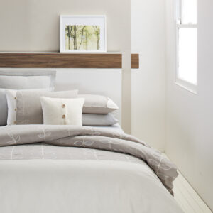 Sanita Quilt Cover Set from the Moran Home Bedroom Collection